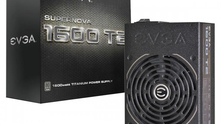 EVGA anuncia su fuente de alimentación Supernova 1600 T2