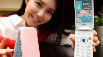 LG y su nuevo smartphone con tapa