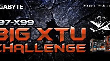 Gigabyte Big XTU Challenge