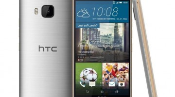 HTC One M9 plateado