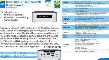 Nuevo NUC de Intel con soporte para 4K
