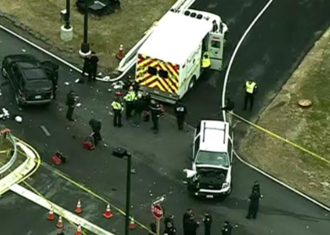 Ataque en la sede de la NSA, Un muerto y dos heridos, Video