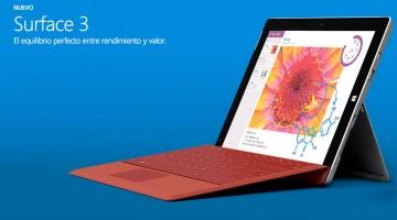 Esta es la nueva Surface 3