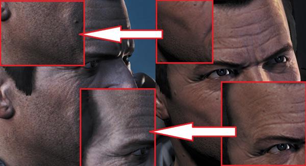GTA V PC vs PS4, comparación gráfica