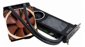 GeForce GTX Titan-X con disipador de refrigeración líquida