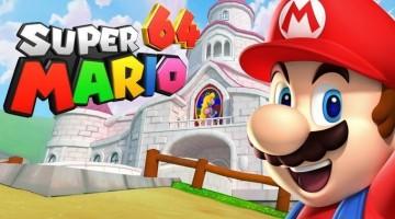 Nintendo pide que se de de baja el proyecto de Super Mario 64 HD