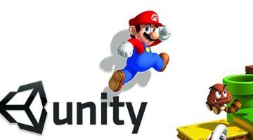 Super Mario 64 en HD recreado con el motor Unity