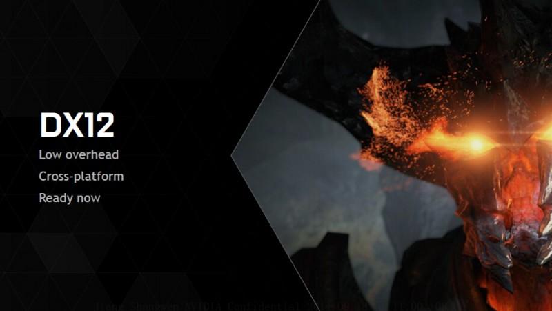 DirectX12 Nvidia GeForce
