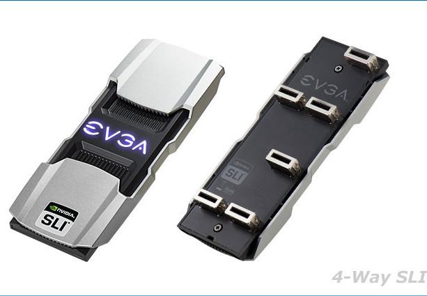 EVGA anuncia los puentes SLI PRO V2-4