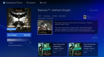 El tamaño que ocupara Batman Arkham Knight en la PS4 es enorme