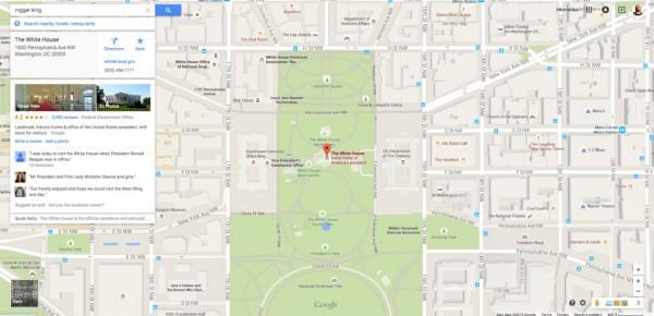 Google pide disculpas por resultados racistas que dirigen a la Casa Blanca en Google Maps-2