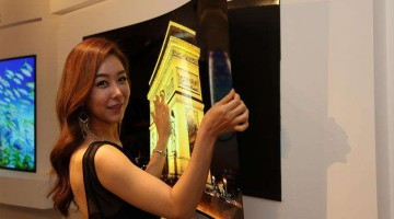 Increíble pantalla OLED de LG con un espesor de 0,97 mm. de grosor