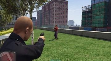 Nuevo MOD para GTA V, podes jugar como Policía en Los Santos