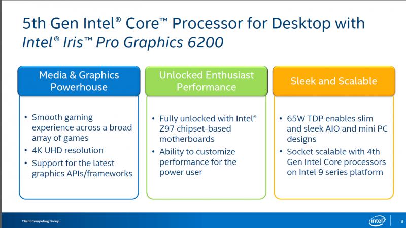 Intel lanza sus Core i7-5775C y Core i5-5675C, Computex 2015 -2