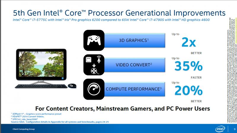 Intel lanza sus Core i7-5775C y Core i5-5675C, Computex 2015 -3