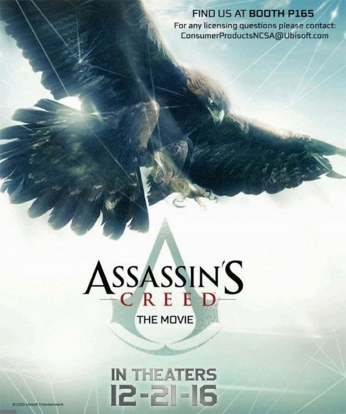Película de Assassins Creed ya tiene su primer cartel oficial