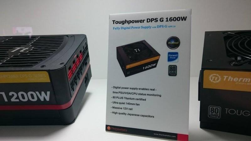 Themaltake presenta su fuente de poder de 1600W en Computex 2015 -2