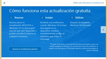 Windows 10 disponible como descarga gratuita el 29 de julio, Oficial