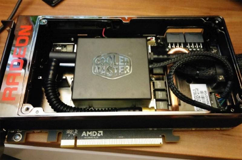 AMD Revisa el Diseño del bloque de la Bomba de la Radeon R9 Furia X