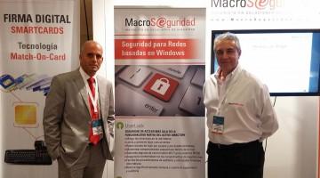 Diego Laborero y Alfredo Rodriguez de Macroseguridad