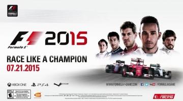 F1 2015 Requisitos de PC revelados