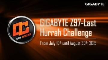 GIGABYTE realiza Z97-Last Hurrah Challenge