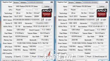 GPU-Z R9 370X Filtrado