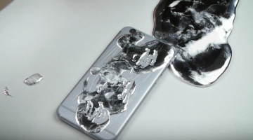 Otra forma idiota de romper un iPhone, ahora con Galio