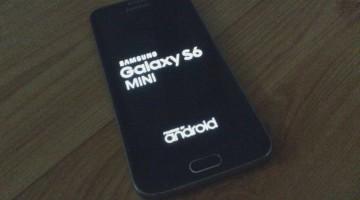 Samsung Galaxy Mini S6, Primeras imágenes