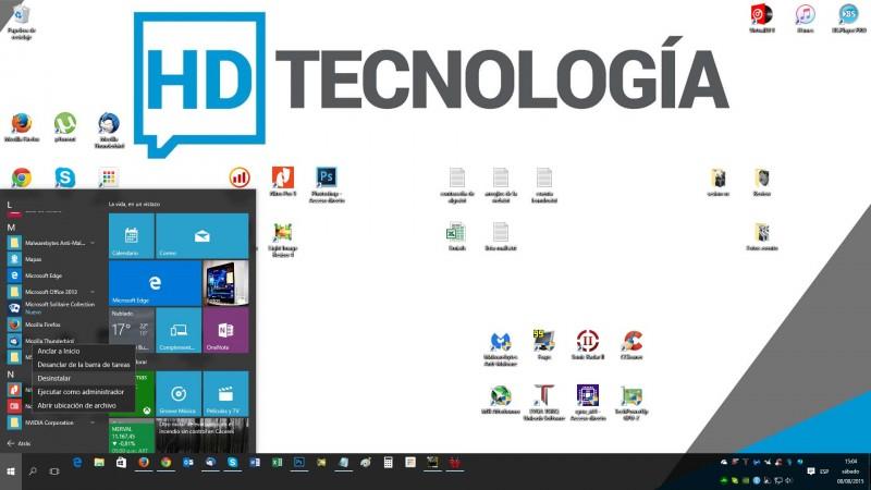 Aprende a desinstalar aplicaciones rápidamente en Windows 10-4