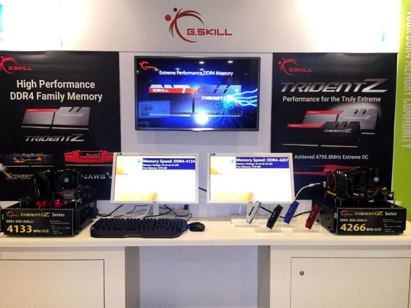 G.Skill muestra sus memorias de 4266MHz DDR4-2