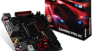 MSI lanza la placa madre Z170I Gaming Pro AC Mini-ITX -4