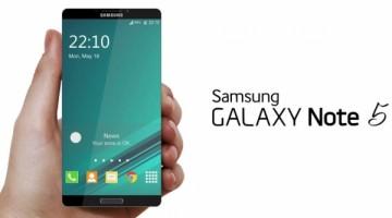Samsung Galaxy Note 5 especificaciones filtradas, viene sin microSD