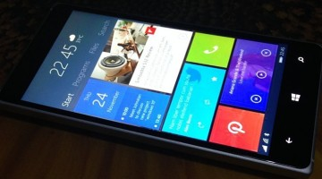 Windows 10 Mobile esta llegando en noviembre