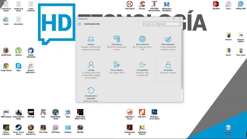 Cómo detener la Recolección de Datos en Windows 10-2