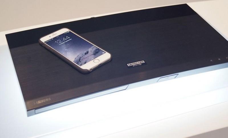 Samsung presenta su primer Ultra HD Blu-ray 4