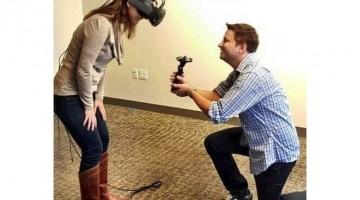 Empleado de VALVE propone matrimonio con sistema de realidad virtual