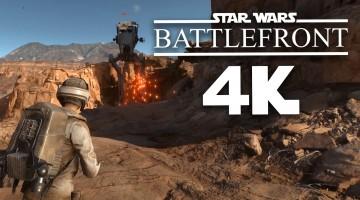 Prueba de rendimiento de las placas GTX 980 Ti y la Radeon R9 Fury X jugando Star Wars Battlefront en 4K