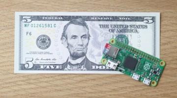 Raspberry Pi revelo su placa Zero