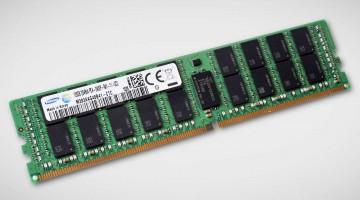 Samsung comienza la produccion de modulos de memoria RDIMM DDR4 de 128 GB