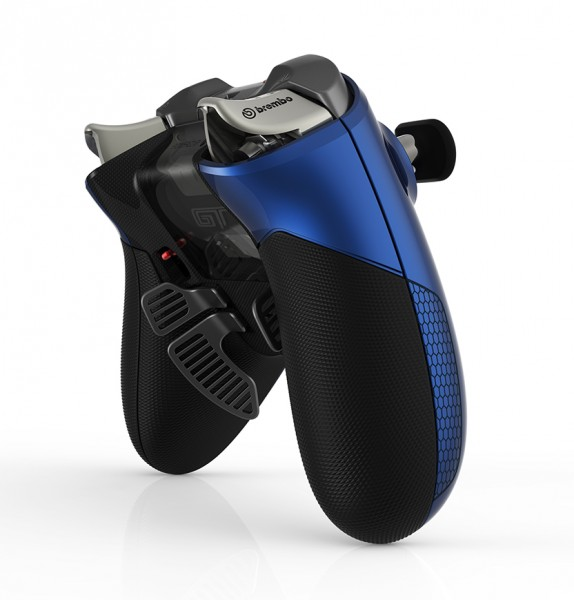 """Xbox Elite Wireless """"GT"""" Controller - back angle"""