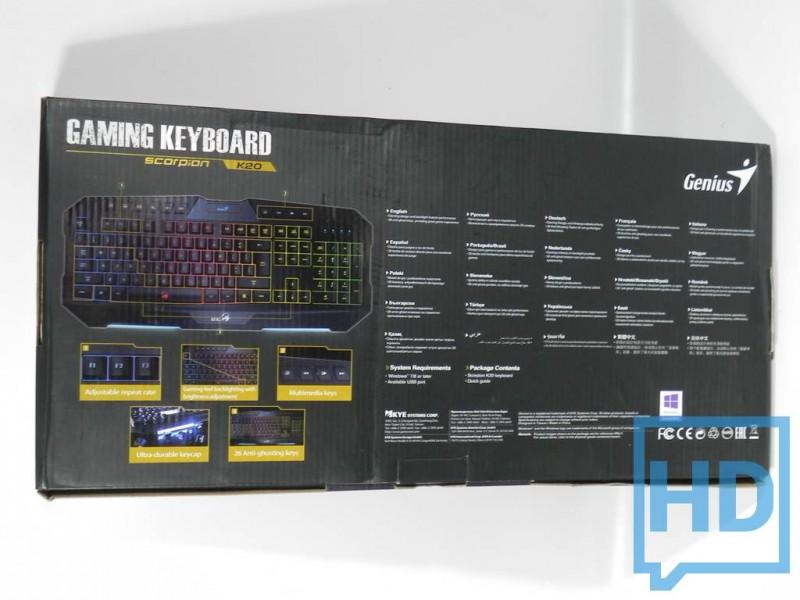 Teclado Scorpion K20 GX Gaming-2