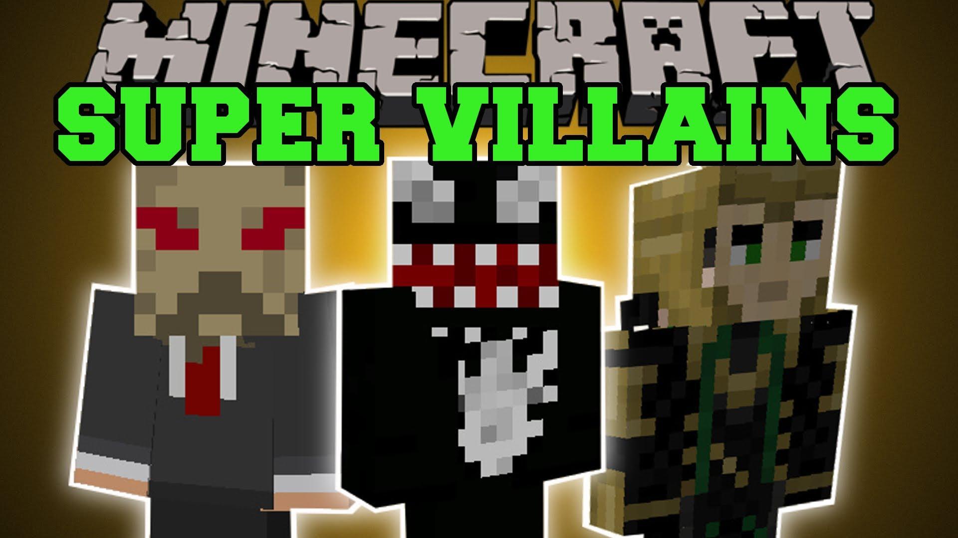 Minecraft Con Skins De Villanos Hd Tecnolog 237 A