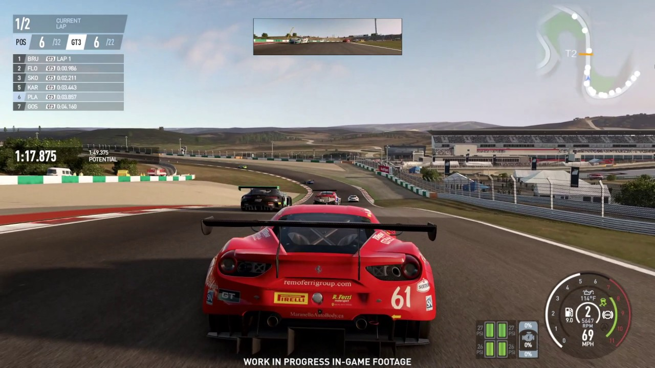 ferrari llega a project cars 2 hd tecnolog a. Black Bedroom Furniture Sets. Home Design Ideas