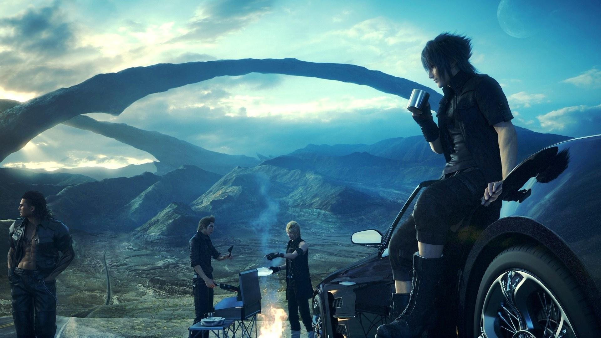 Nvidia Demuestra Su Poder Con Final Fantasy Xv A 4k Y 60fps