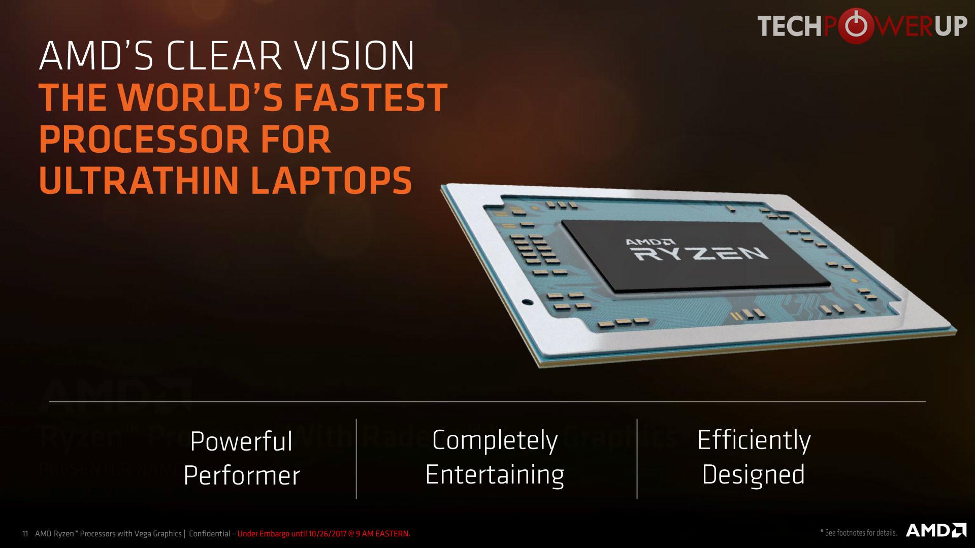 Amd Presenta Nuevos Procesadores Móviles Ryzen El Amd Ryzen