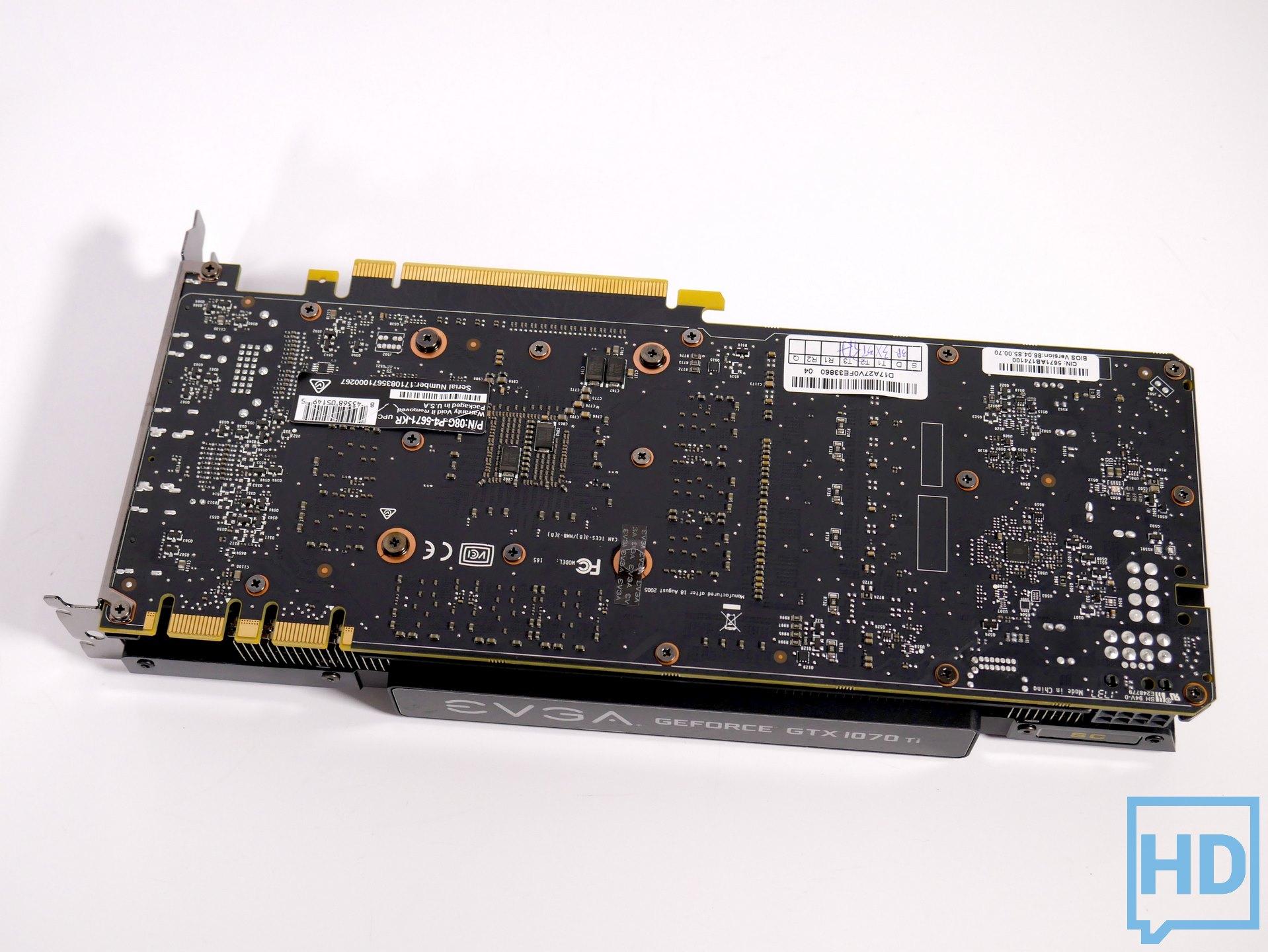 Review EVGA GeForce GTX 1070Ti SC 8GB