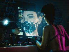 Una de las escenas de la demostración de Cyberpunk 2077 en E3 2018.