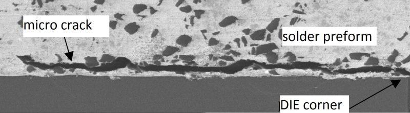Las micro-roturas del DIE. Imagen: Der8auer