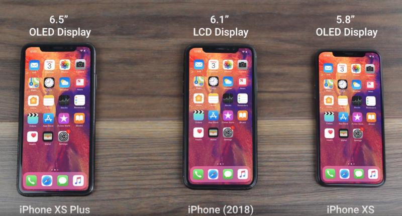 Así podrían ser los nuevos modelos de Apple.